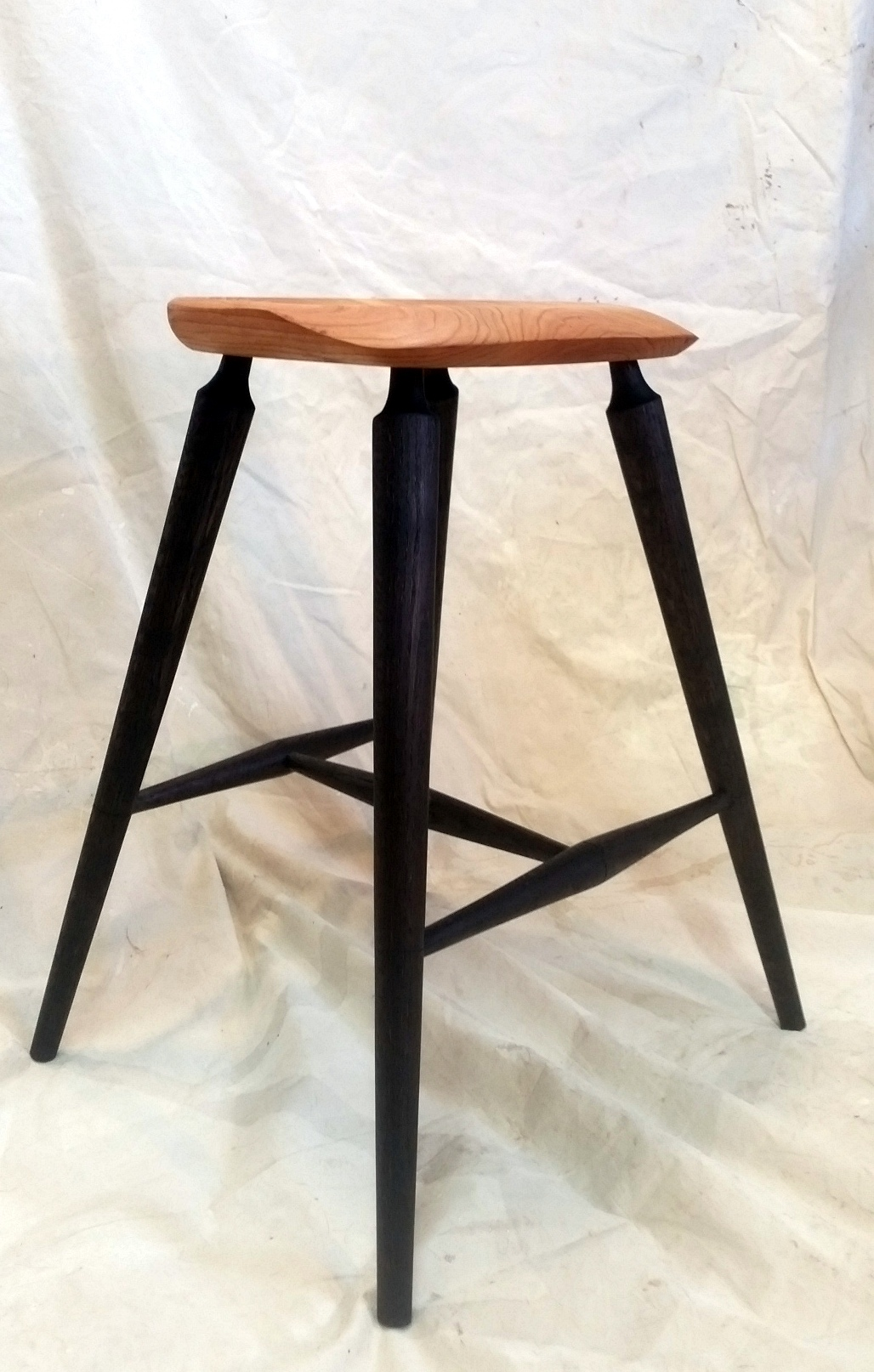 Marvelous The Meaford Stool Onthecornerstone Fun Painted Chair Ideas Images Onthecornerstoneorg