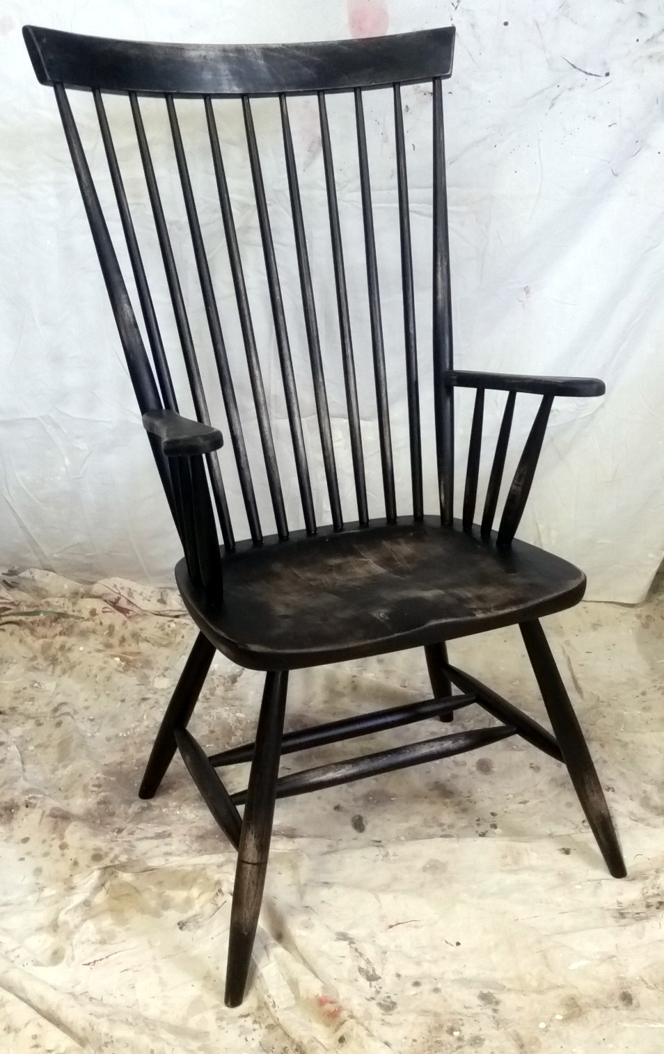 High back Windsor arm chair | custom furniture Ontario ...