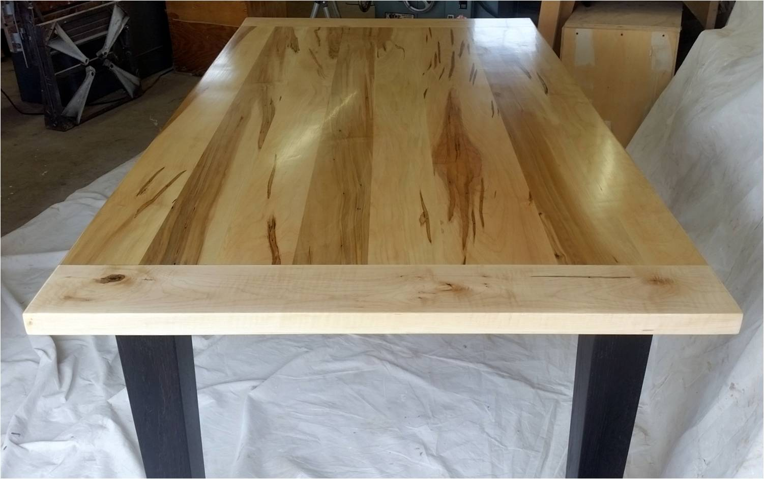 Wormy Maple Harvest Table